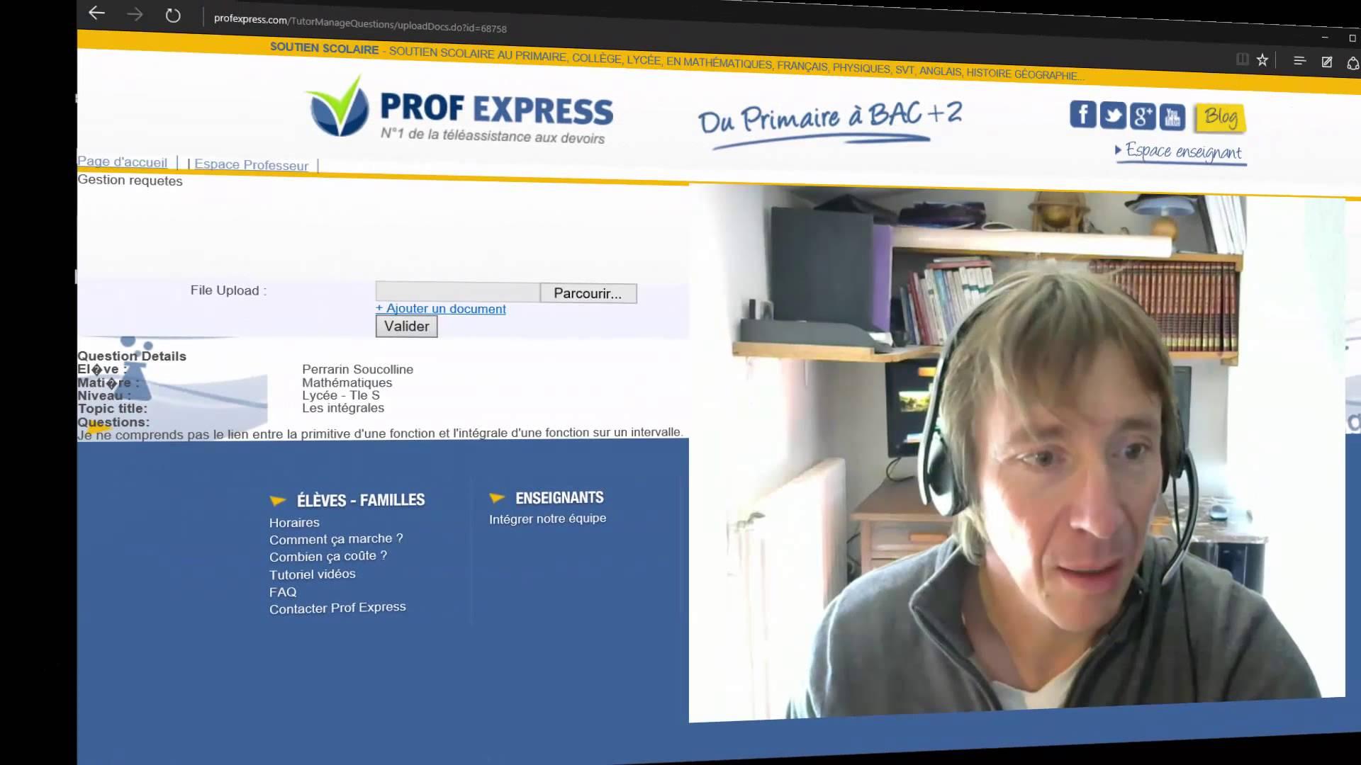 Prof Express: du nouveau à la rentrée!