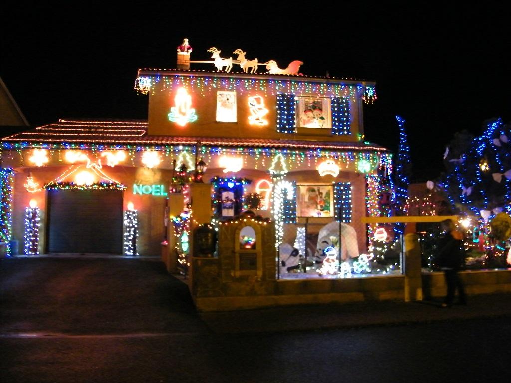Concours des illuminations de Noël jusqu'au 16 décembre 2018