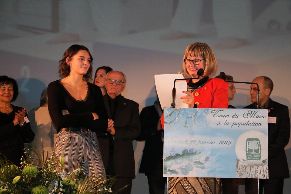 Discours de Catherine Aliquot-Vialat prononcé lors des Voeux aux habitants