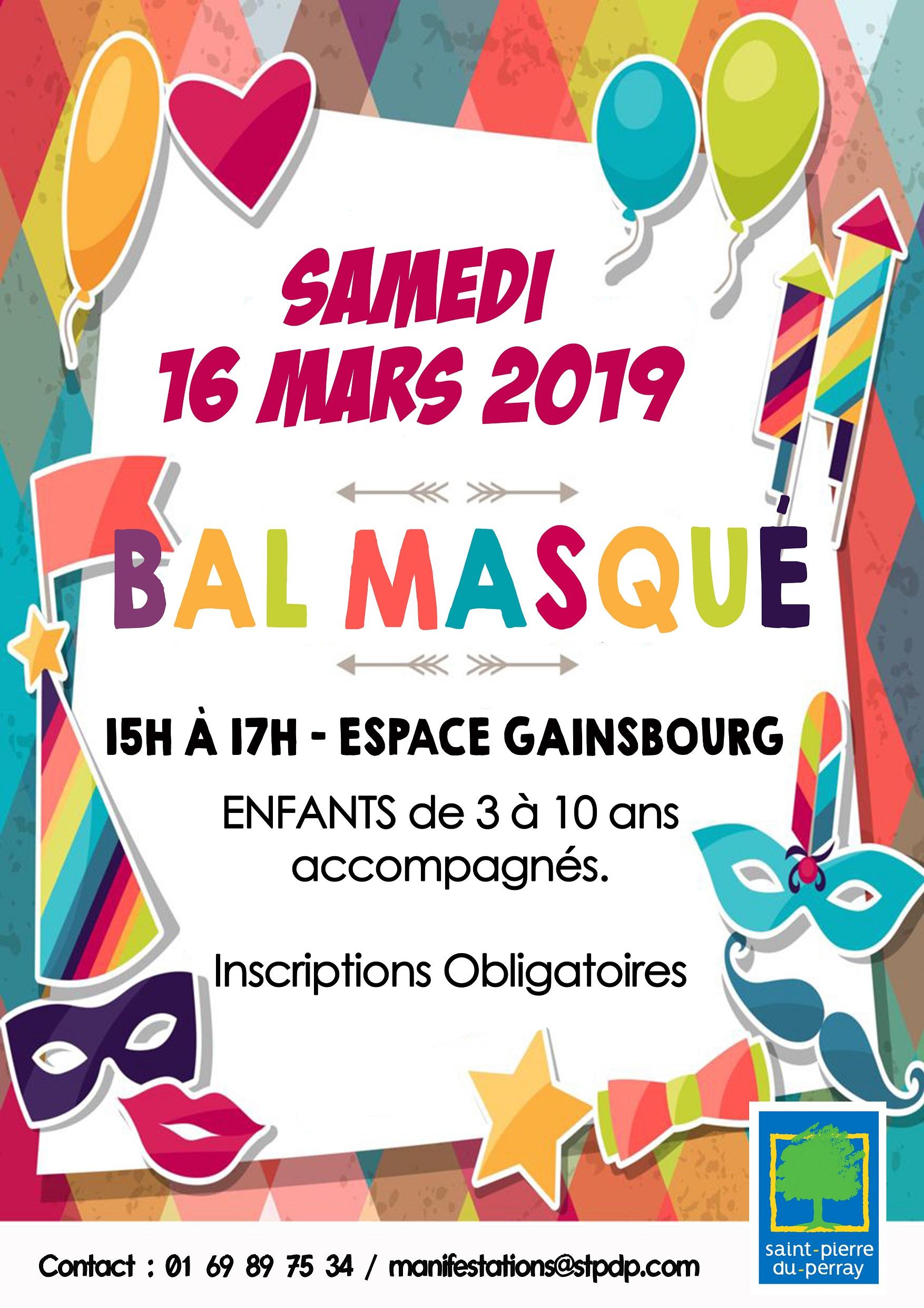 Bal masqué le 16 mars 2019