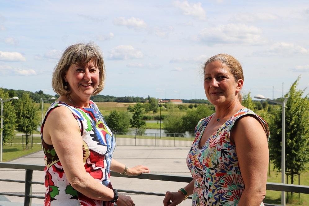 Catherine Aliquot-Vialat rencontre la sénatrice de l'Essonne Laure Darcos
