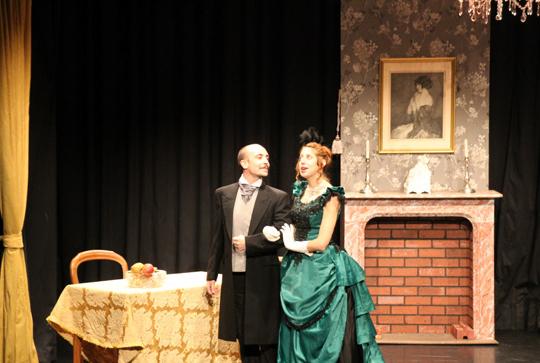 Théâtre: un mari idéal (d'Oscar Wilde)