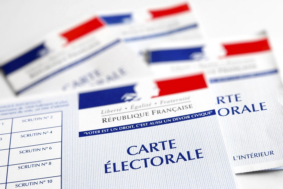 Cartes électorales disponibles en Mairie