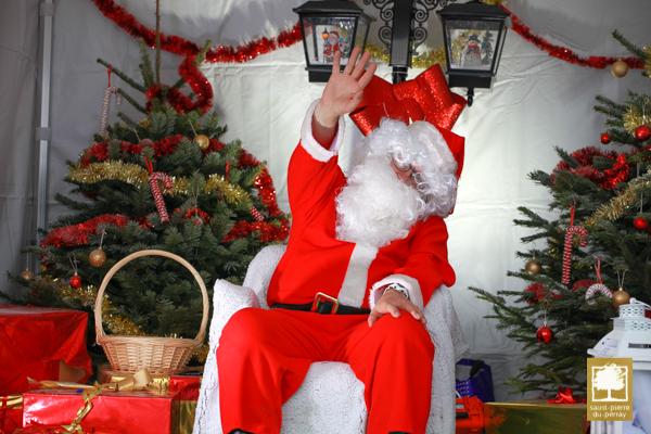 Photos avec le Père Noël le 7 décembre 2019