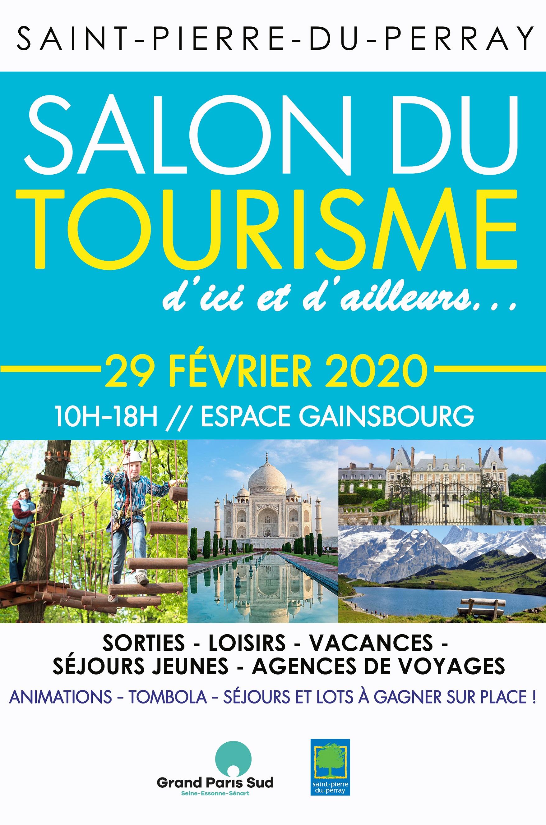 Salon du tourisme le 29 février 2020