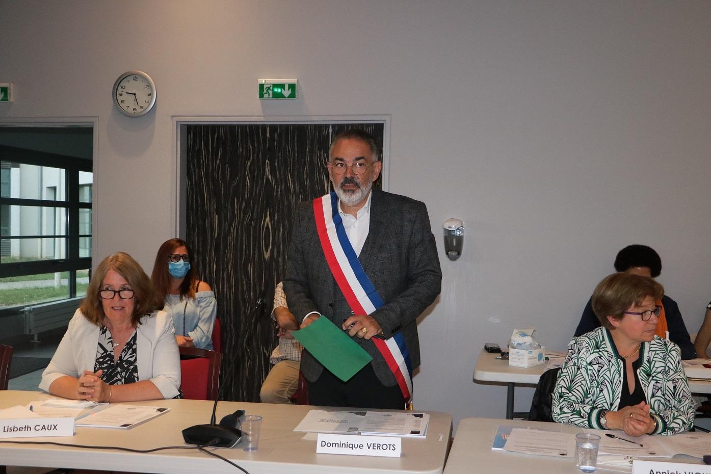 Dominique Vérots élu Maire de Saint-Pierre-du-Perray