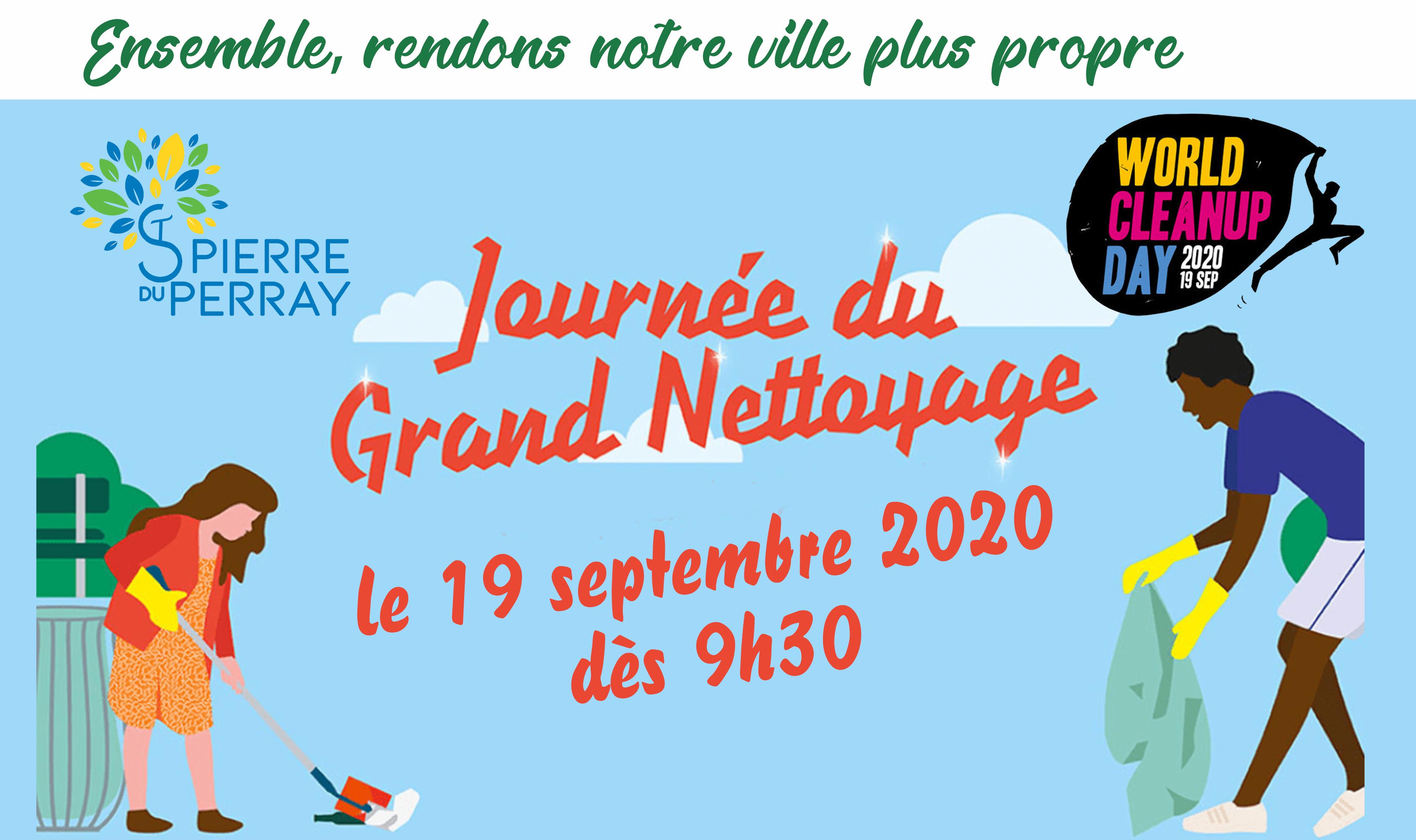 Journée du grand nettoyage + Animation Mairie
