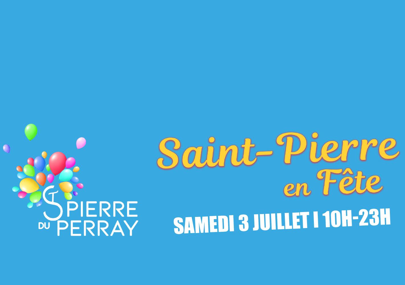 Programme Saint-Pierre en fête le 3 juillet