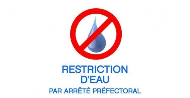 Arrêté Préfectoral: Restrictions & limitations usage de l'eau
