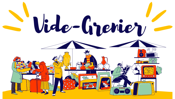 Vide Grenier le 3 octobre 2021