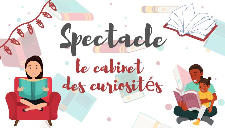 Spectacle: Le cabinet des curiosités