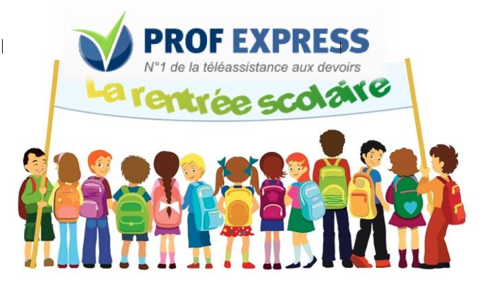 Prof express: soutien scolaire gratuit en ligne