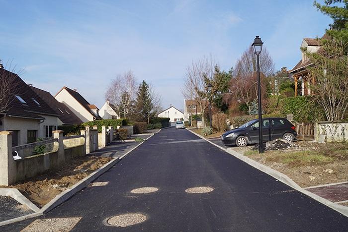 La rue des Vignes entièrement refaite
